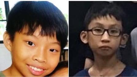 Boys missing in Singapore for more than a day finally found