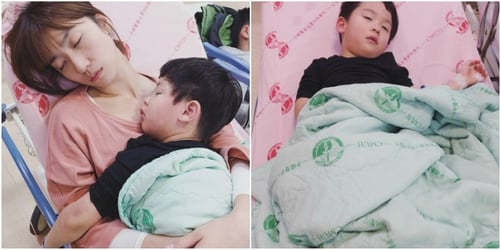 Andie Chen and Kate Pang panic as their son gets admitted to the ICU
