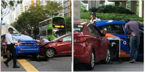Child injured in Singapore car accident taken to hospital