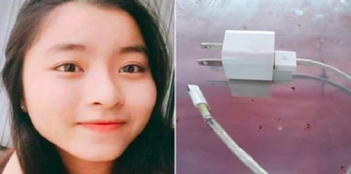 Girl dies due to electrocution by broken phone charging cable