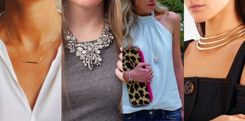 Match Your Necklace To Your Neckline Like A Pro With Our Tops Tips