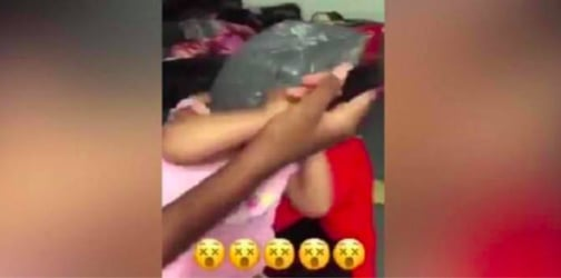 Horrific Video Shows Teenaged Parents Torturing Baby