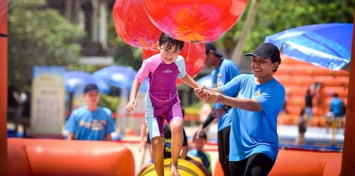 There is no end to fun at Sentosa Island in Malay