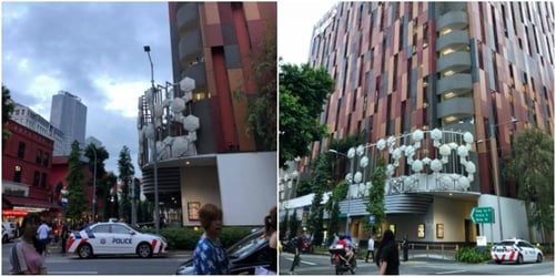 Young Singapore girl attempts suicide, rushed to hospital