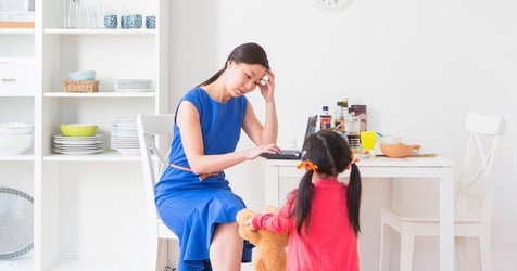 Study: Stressed Mom Of Toddlers Cells Age By More Than 11 Years