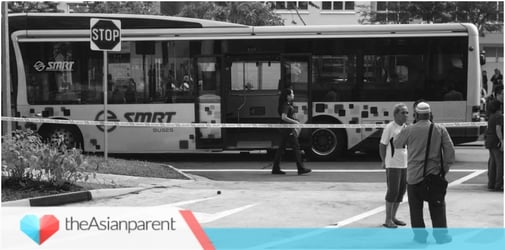 6-Year-Old Singapore boy dies after getting trapped under a bus