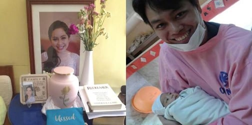 Baby who lost mum receives breastmilk donations in outpouring of love