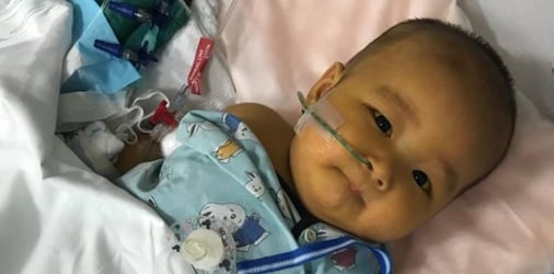 Singapore mum saves the life of six-month-old baby with liver failure