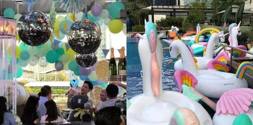 Kim Lim's baby's 1st birthday party is the stuff dreams are made of!
