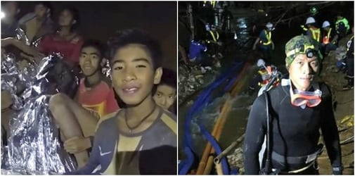 Ex Thai Navy diver dies while delivering oxygen to rescue trapped Thai boys