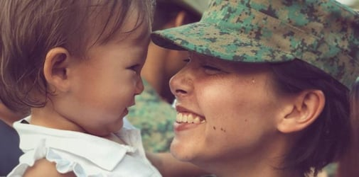 Celeb mum Kelly Latimer says staying away from her daughter was the toughest part of enlisting with SAF