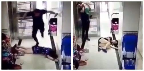 Man beats up wife in front of toddler: STOP domestic violence now