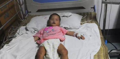 Baby girl lost in forest for four days, found alive