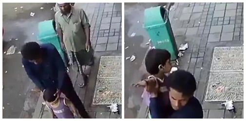 CCTV footage shows how terrifyingly easy it is to kidnap children