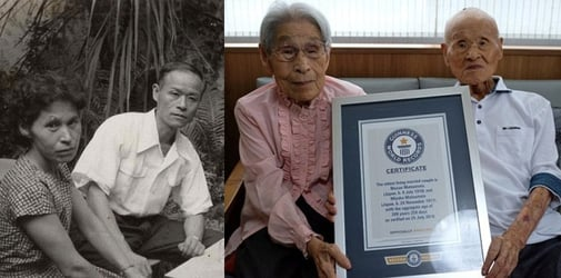This couple has been married for 80 years! What's their secret?