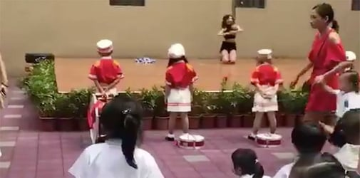 Pole dance show on Kindergarten's opening day sparks public's outrage