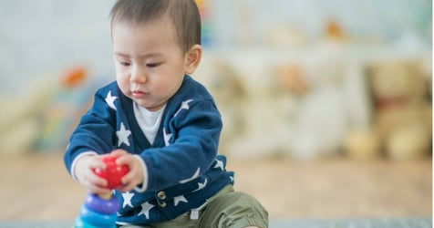 Try This Out To Develop Babies' Upper Limbs!