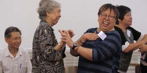 Bringing people with Alzheimer's disease in Singapore together through dance