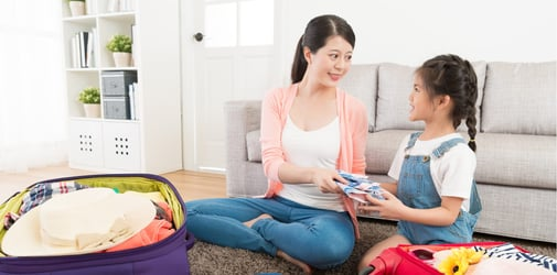 Traveling with kids: the super prepared mum's packing list