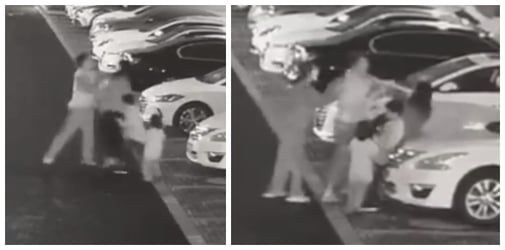 Man assaults mum in front of her kids, police investigate