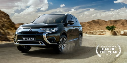 Take The Road Less Travelled With The Mitsubishi Outlander