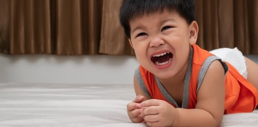 What You May Not Realise About Your Child's Tantrums