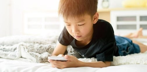 Kids Watching Less TV But Spending Close To 4 Hours On Mobile Devices