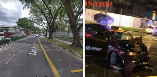 2-year-old, Three Others Taken To Hospital After Car Accident In Ang Mo Kio