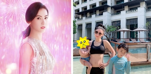 Cecilia Cheung, Actress, Tries To Fly Back To HK Every Night To Wish Sons Goodnight