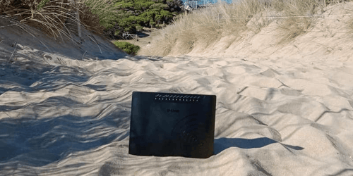 Their Kids Aren't Interested In A Day Trip, So Australian Parents Take Their Internet Router Out Instead