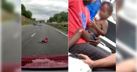 2-year-old Boy Flung Out of Car in Malaysian Highway Collision