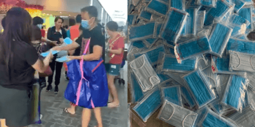 Good Samaritans Hold Series of Surgical Mask Giveaways at Punggol Mrt, Next One on Feb 8
