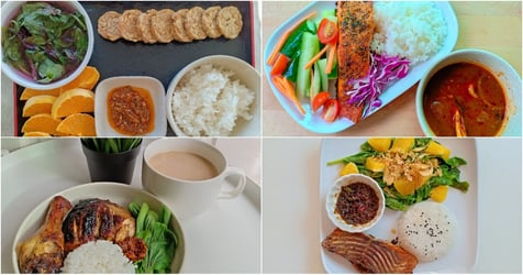 Woman Loses 13kg in 3 Months Using The Malaysia Healthy Plate Diet and Her Meals Look Surprisingly Delicious