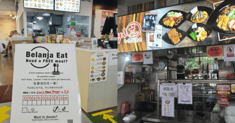 Support Local Hawkers and Buy A Meal for Those in Need Through This Initiative