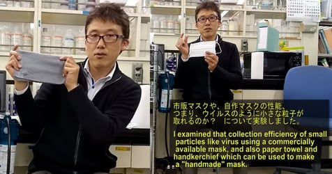 Surgical Mask, Paper Towel Mask Or Cloth Mask? Japanese Professor Tests Which Is Most Effective Against COVID-19