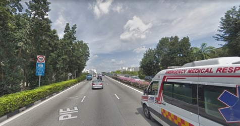 One-year-old Boy, 2 Others Taken to Hospital After Hit-and-run on PIE on 6 Jul