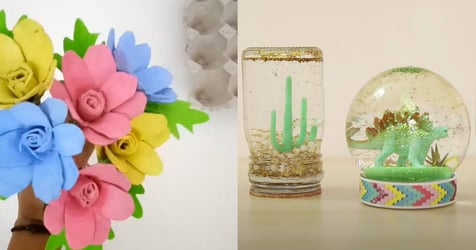 9 Easy Arts & Crafts For Kids You Can Do Together