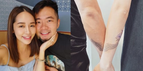 Former DJ Daniel Ong and Wife Get Couples' Tattoo To Celebrate Anniversary