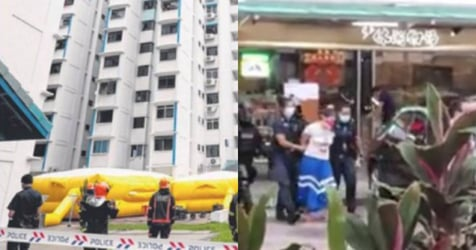 Woman Allegedly Threatens Suicide After Quarrel With Mum, Arrested After 6-hour Stand-off in Toa Payoh