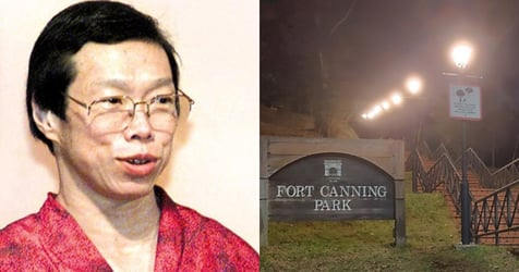 Lee Wei Ling Gets Lost and Fractures Leg in Fort Canning, Rescued 6 Hours Later