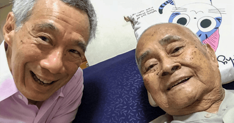 PM Lee Pays Tribute to Teacher Who Taught Him Malay When He Was a Child