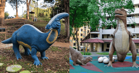 Here's Where You Can Find Dinosaurs In Singapore Without Flying Golf Balls