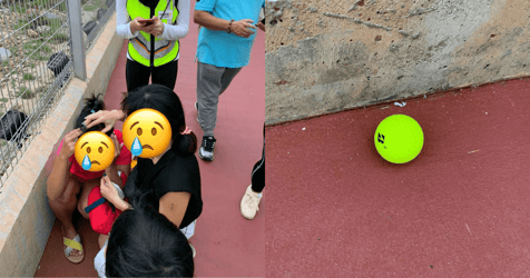 Changi Jurassic Mile Visitor Hit By A Golf Ball From Tanah Merah Country Club