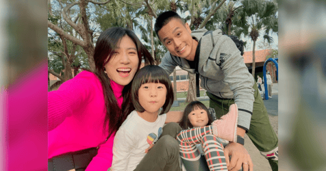 Andie Chen and Kate Pang Temporarily Relocate Kids to Taiwan