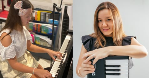 Local Jazz Pianist, Full-time Mum Shares How To Train Kids To Have a 'Musical Ear'