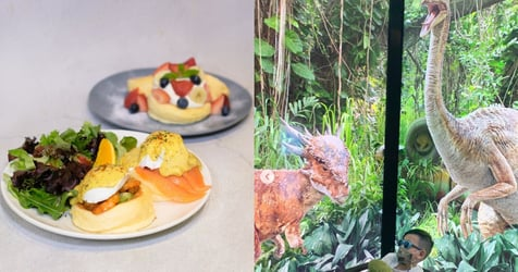 Take Your Kids To See The Dinosaurs, Eat Miraculously Soft Pancakes At Orchard This Weekend