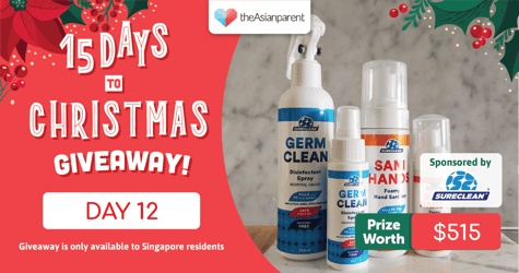 theAsianparent's 15 Days To Christmas Giveaway 2020: Day 12 of 15