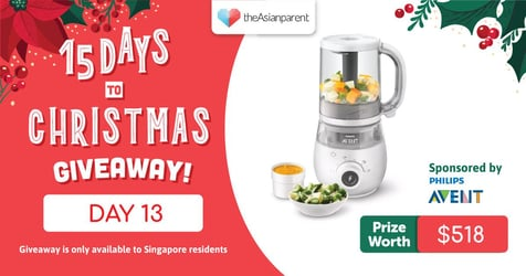 theAsianparent's 15 Days To Christmas Giveaway 2020: Day 13 of 15