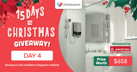 theAsianparent's 15 Days To Christmas Giveaway 2020: Day 4 of 15