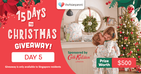 theAsianparent's 15 Days To Christmas Giveaway 2020: Day 5 of 15
